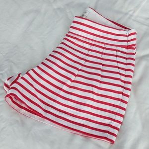 "✨NEW✨ J. Crew Red & White Striped 3"" Shorts"